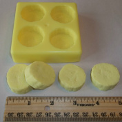 Banana Slices Candle & Soap Mould - 4 cavities