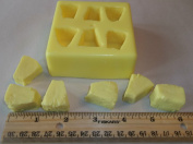 Pineapple Chunks Candle & Soap Mould - 6 Cavities
