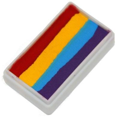 TAG Face Paint 1-Stroke Split Cake - 4 Colour Rainbow (30g)