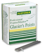 Fletcher FrameMaster Framing Tool - Glazier's Points, Pkg of 5000