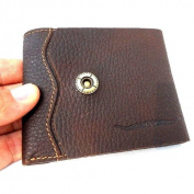 Men Money Real Genuine Leather Wallet Coin Retro Pocket Purse Ru Vintage Style New.