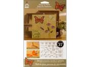Folk Art 5202 Easy to Paint, Rub-On-Butterflies
