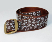 Bison Designs Women's Manzo Belt with Anodized Aluminium Buckle