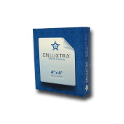 """10cm Any Wound"""" Dressing - Box of 10 ENLUXTRA 10cm x 10cm Self-Adaptive Super Absorbent Dressings for Wounds with Any Exudate Level"""