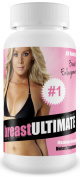 breastULTIMATE Breast Enlargement Pills - All Natural Female Enhancement Formula - Increase 2+ Cup Sizes!