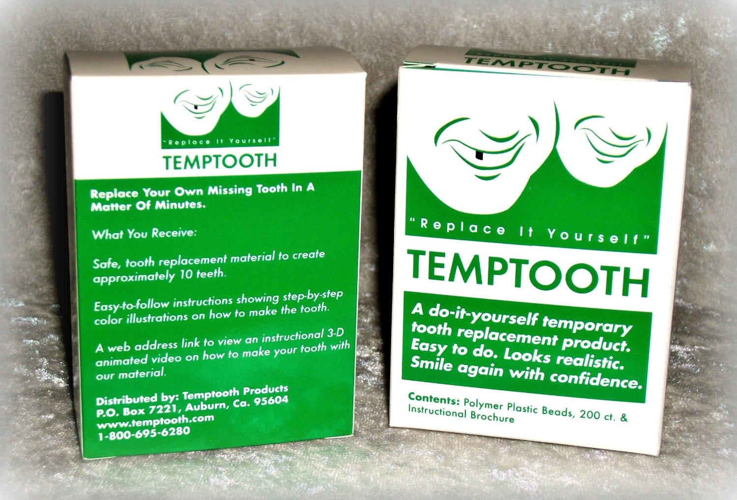 Temptooth do it yourself tooth replacement product by temptooth temptooth do it yourself tooth replacement product by temptooth shop online for health in the united states solutioingenieria Images