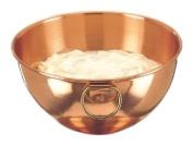 8¼ In. Diameter Solid Copper Beating Bowl, 1.9l.
