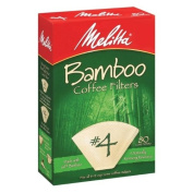 80 Count Bamboo filters Size