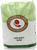 Coffee Bean Direct Poor Man's Blend, Whole Bean Coffee, 2.3kg Bag