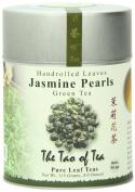 The Tao of Tea, Handrolled Jasmine Pearls Green Tea, Loose Leaf, 120ml Tin