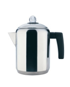Copco 4- to 8-Cup Polished Stainless Steel Stovetop Percolator, 1.4l