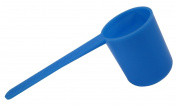 Arcway Industries The Perfect Scoop Coffee Scoop - with Easy Directions, Sky Blue