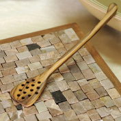 Hand Carved Olive Wood Honey Dipper