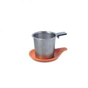 FORLIFE Hook Handle Tea Infuser and Dish Set