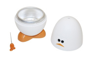 Joie Boiley White and Orange Microwave Egg Boiler