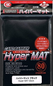 10X 80ct Packs KMC Hyper Matte Black Sleeves Fits Standard Size MTG, Magic, Pokemon etc...