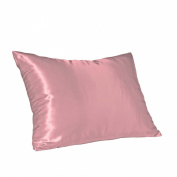 Hidden Zipper Satin Pillowcase, Choice Of Different Colour's And Size's(2 Pack)