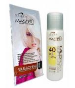 Hair Bleaching Lightening Powder Kit Platinum White