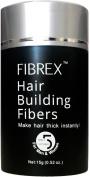 FIBREX Hair Building Thickening Fibres Loss Concealer Black 15g 15ml. Toppik X-Fusion Caboki