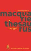 Macquarie Budget Thesaurus