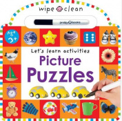 Puzzles and Games Sticker Book [Board book]