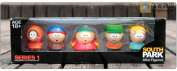 Box-packed Pvc Figure South Park Mini Display Figure Toys (5-pcs Pack) South Park Stan Kyle Eric Kenny Butters Action Figures