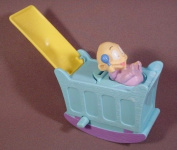 Rugrats the Movie Burger King Wind Up Cradle with Baby Dill