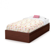 Summner Breeze Twin Storage Bed Royal Cherry