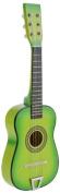 Star Kids Acoustic Toy Guitar 60cm Colour Light Green, MG50-LGN