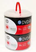 HP DVD-R 16X 4.7GB 100PK in Spindle with Handle