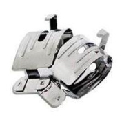 Adorama Stainless Steel Film Clips, Pack Of Four, with Weights