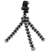 UFCIT(TM) Octopus Tripod with Adapter for Gopro Hero 3+/3/2/1 - Black + White