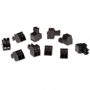 Connector A 2-pin 3.81 Straight, 10 pcs