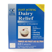 QC Dairy Relief Fast Acting Caplets , 32 ct