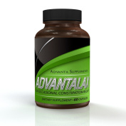 Constipation Relief, Safe & All-Natural Laxative + Probiotics For Maximum Colon Cleansing & Stool Softening! No Dangerous Artificial Ingredients, 100% Proven To Improve Colon Health, Works Or Your Money Back!