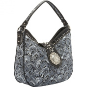 Montana West Buckle Concho Collection Hobo
