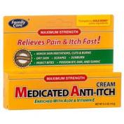 Medicated Anti-itch Cream with Aloe & Vitamin E, 15ml