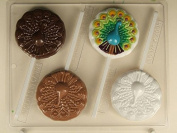 Peacock Lollipop AO176 All Occasion Chocolate Candy Mould