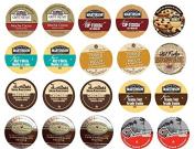 20 Cup Delicious CHOCOLATE Exhilaration Sampler! Coconut Fudge, Fudge Brownie, Dark Chocolate Truffle, Choconut+
