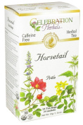 Celebration Herbals - Organic Caffeine Free Horsetail Herbal Tea - 24 Tea Bags