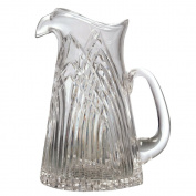 Crystal Water Pitcher-Mouth Blown