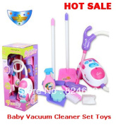 Chirstmas Gift For Children Cleaning Tool Toy Vacuum Cleaner Kit Baby Play House Toys
