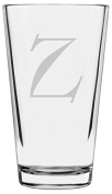 Celtic Etched Monogram All Purpose 470ml Libbey Pint Glass