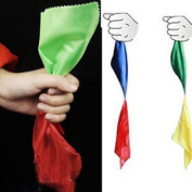 Details About New Change Colour Silk Scarf For Magic Trick Props Magic Tools Toys