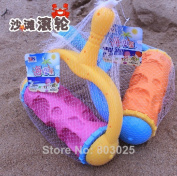 Sand Beach Tool Toy Marine Life Patterns Roller, Great Pretend Play Toy, Summer Toy For Kids