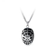 Marvel Comics The Amazing Spiderman Stainless Steel Pendant Necklace