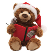 Plush - Christmas - Storytime Bear New Soft Doll Toys Gund Licenced 4036180