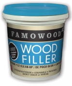 FAMOWOOD Latex Wood Filler - Natural - 1/4 Pint