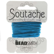 BeadSmith Soutache Braided Cord 3mm Wide - Peacock Blue