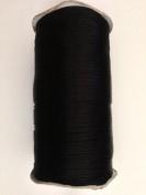 Black Satin Rattail Nylon Cord 2mm 250yd/roll DIY